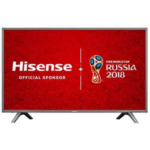 Hisense H49N5700 Grey - 49inch 4K Ultra HD with HDR Smart TV £349 w/ code @ Co-op Electrical (Members offer)