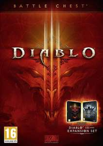 Diablo III 3 Battle Chest PC (includes base game and Reaper of Souls) - £12.99 or £12.34 with Facebook like code @ cdkeys.com