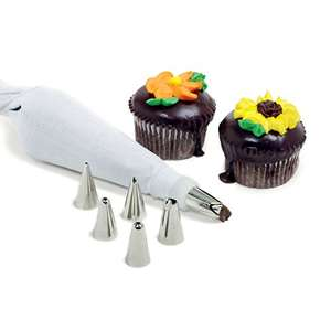 Norpro Decorating Icing Set (White) - was £7.11 now £0.99  (Prime) / £4.98 (non Prime) at Amazon