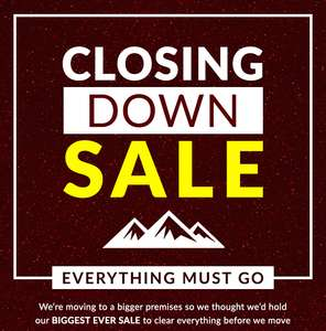 Closing Down Sale at Absolute Snow