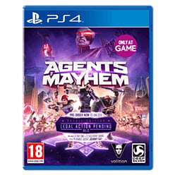 Agents of Mayhem + Free Steelbook (PS4/XBOX ONE) £9.99 @ GAME