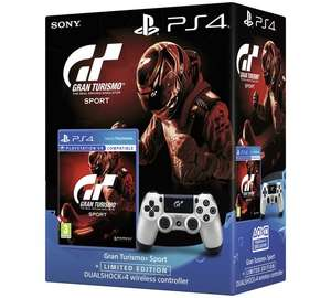 Gran Turismo Sport Limited Edn Dualshock 4 PS4 Game Bundle £52.99 @ ARGOS + £5 giftcard when spending more than £35.00 at Argos