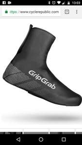 GripGrab Ride Waterproof Shoe Covers £10.80 -  Cyclerepublic
