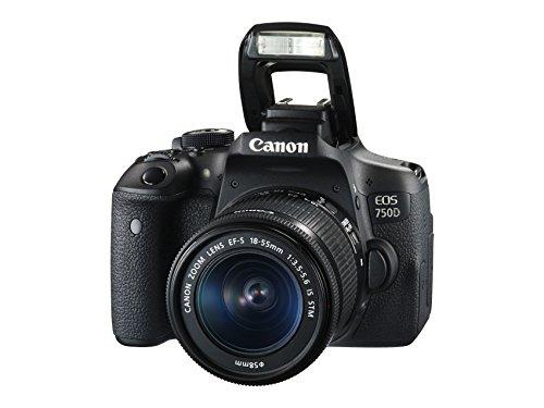 Canon EOS 750D + 18-55mm STM Lens - £479 @ Amazon