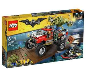 LEGO The Batman Movie Killer Croc Tail-Gator - 70907 (Retired at LEGO) - £32.99 with code @ Argos