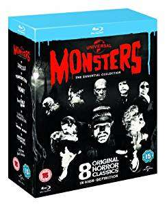 Universal Classic Monsters-The Essential Collection [Blu-ray] @ Zoom.co.uk £10.80 using SIGNUP10