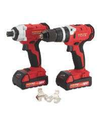 Workzone Titanium 18v impact driver and drill kit - 2 batteries - £59.99 instore @ ALDI