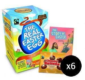Which Easter Eggs actually have the word Easter on them this year? I found these for £23.94 for 6 Eggs from Eden.co.uk.