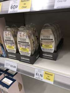 Yankee candles Home Inspiration reduced to clear instore @ Tesco from 60p