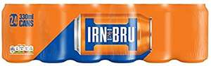 IRN-BRU Soft Drink Cans, 330 ml, Pack of 24 - £6 @ amazon - prime exclusive