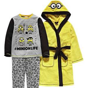 Minion Yellow Nightwear Set - £13.49 @ Argos