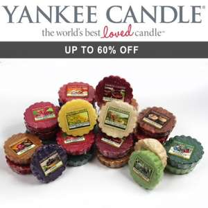 Yankee Candle Wax Melts - £4.99 for 5 / £8.99 for 10 / £14.99 for 20 @ WeeklyDeals4Less