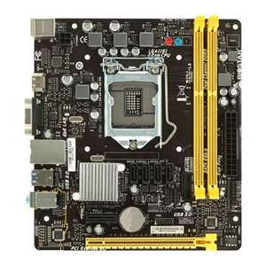 Biostar Intel Kaby Lake H110MHV3 V7 MicroATX Motherboard with DDR3L memory support at Scan for £40.99