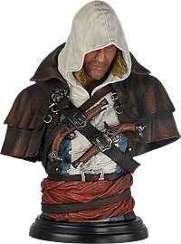 Edward kenway bust  statue at Game for £39.99