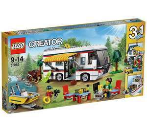 Lego Creator Vacation Getaways down to £31.99 with code @ Argos