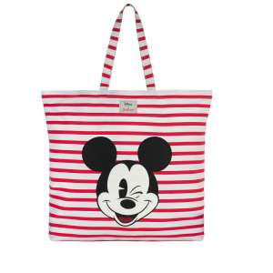 Cath Kidston Breton Stripe Mickey Mouse applique Tote was £30 now £15 + Free Mothers Day Card w/code + Free C+C @ Cath Kidston