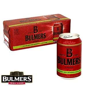 Bulmers Cider: Red Berries & Lime (10 Can Fridge Pack) £7.90 @ home bargains in-store or free c+c