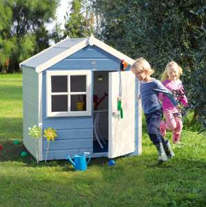 4x4 Woodbury Playhouse for £93 delivered @ B&Q (P&P £10)