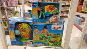 V-tech Toot toot drivers deluxe track set £5 @ Wilkinson instore