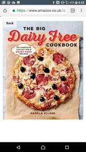 The Big Dairy Free Cookbook! Free for kindle