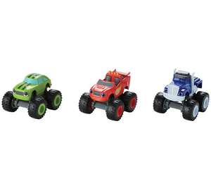 Blaze and the Monster Machines Monster Truck 3 Pack Vehicles - £6.99 @ Argos