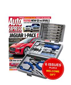 6 issues of Auto Express and 26 Piece Tool Set -£1 @ Magazine Subscriptions