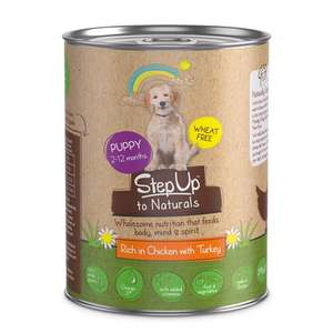 Pets at Home 24x StepUp to Naturals dog food cans £11