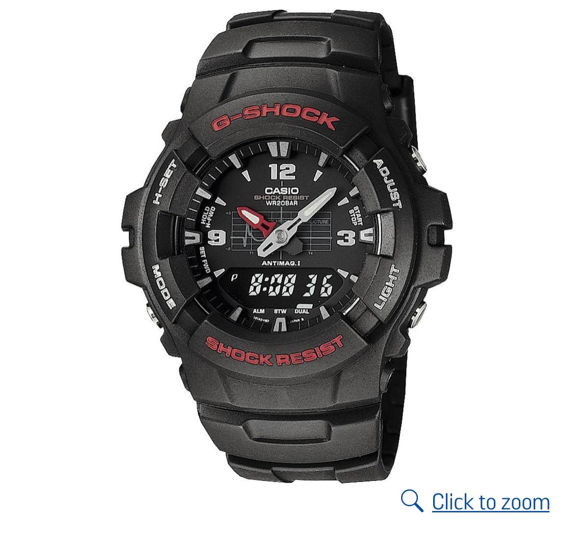 G-Shock by Casio Men's Black Combi Watch , £54.99 @ Argos free c&c