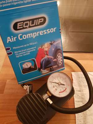 "12v ""Equip"" Air Compressor £3 @ ASDA Service Station, Haydock"
