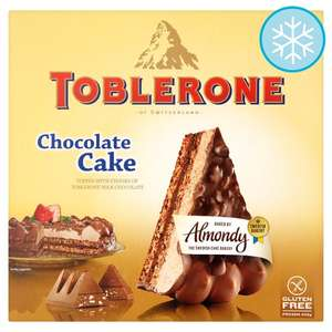 Toblerone chocolate cake £1.95 instore @ Tesco Rugby