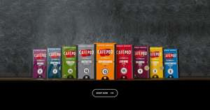 £10 voucher for Nespresso compatible cafépod capsules (50 capsules for £8.45)