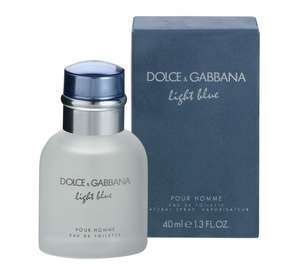 Dolce & Gabbana Light Blue for Men - 40ml £20.99 @ Argos