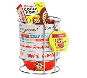 Kellogg's Stacking Bowls with Coco Pops £9.99 @ Argos