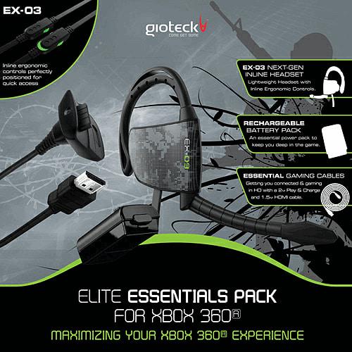 Gioteck Xbox 360 Messenger Power Kit - £2 @ GAME