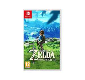 New Nintendo Switch Legend of Zelda Breath of the Wild £45 @ Tesco on Ebay