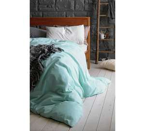 Heart of house 100% cotton,single fitted sheet duck egg £3.29 was £12.99 @ Argos