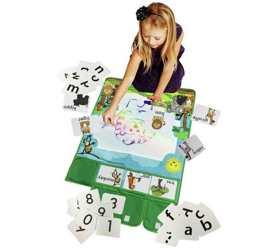 Chad Valley play smart aqua mat + 46 flash cards £4.99 @ Argos