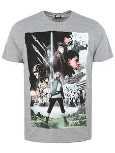Star wars men's T-shirt back in stock * be quick,M,L,XL now £2 @Asda George
