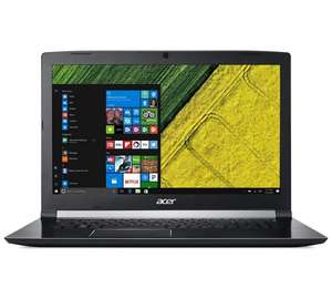 Acer A715-71G laptop with Intel i5 quadcore 7th gen and 2gb GTX1050 Graphics £644.99 at Argos