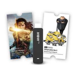 Now TV Stick with 1 Month Sky Cinema Pass now on sale £20 at Tesco and £19.99 at Argos