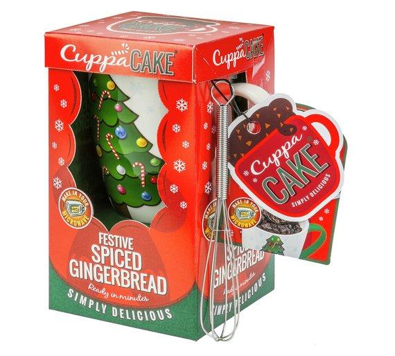 CuppaCake - Gingerbread - Mug Cake + Free click and collect at Argos