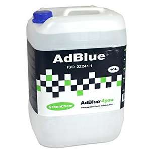 Greenchem Adblue 10Ltr - £8.77 delivered with SALE16 @ Carparts4less (anything up to £15 elsewhere eg on the garage forecourt, and you're stuffed if the Adblue light comes on so best to get a reserve 10L in)