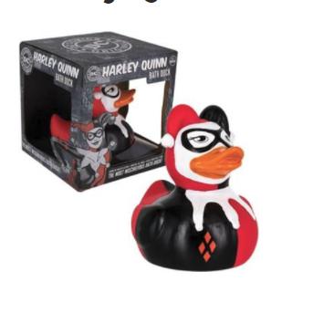 Harley Quinn Bath Duck £2.99 @ Grainger games