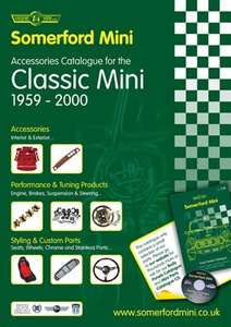 Classic Mini - Free CATALOGUE - ACCESSORIES Free Delivery