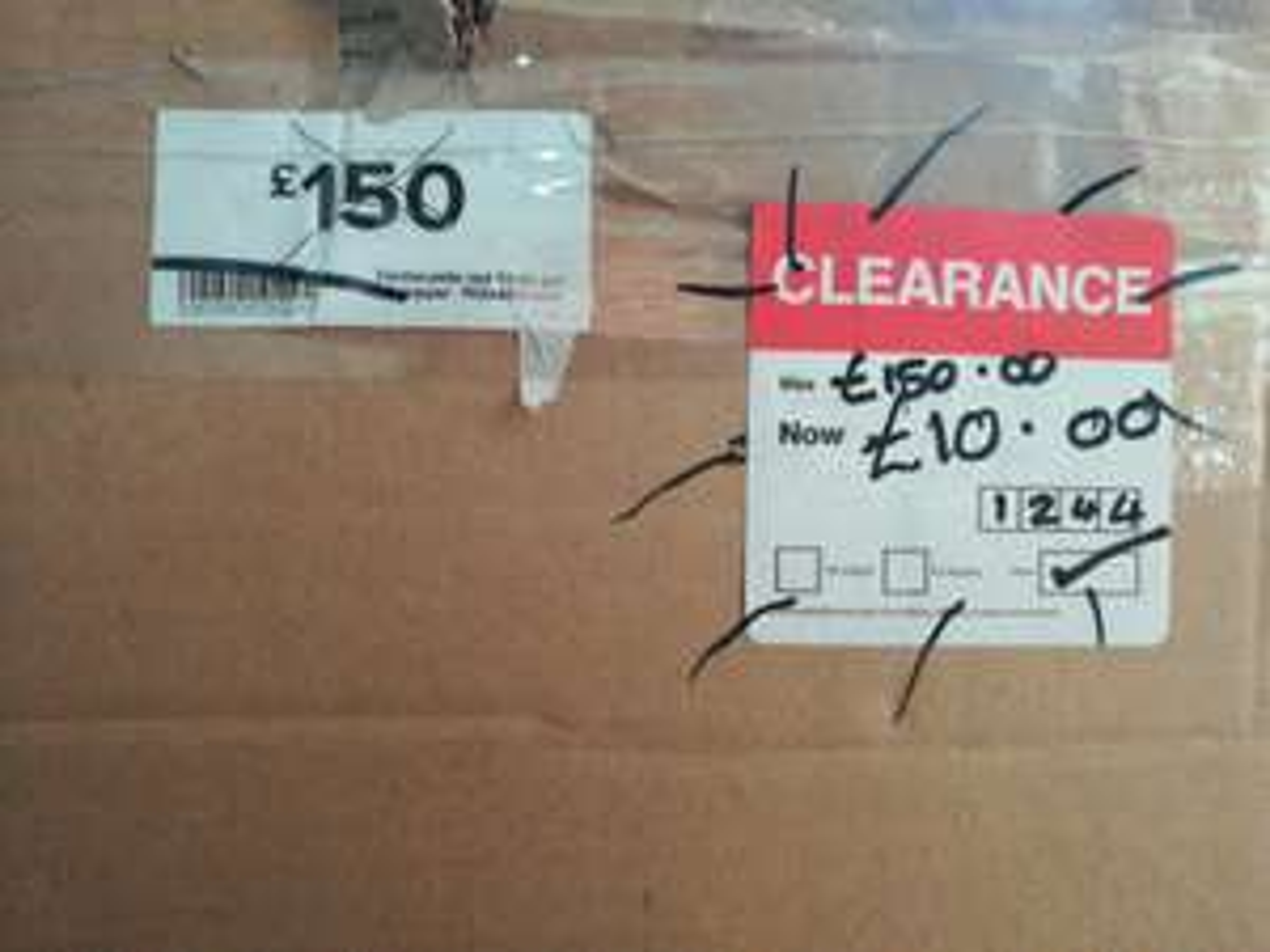 Discounts in Norwich B&Q e.g towel rail £10 was £150