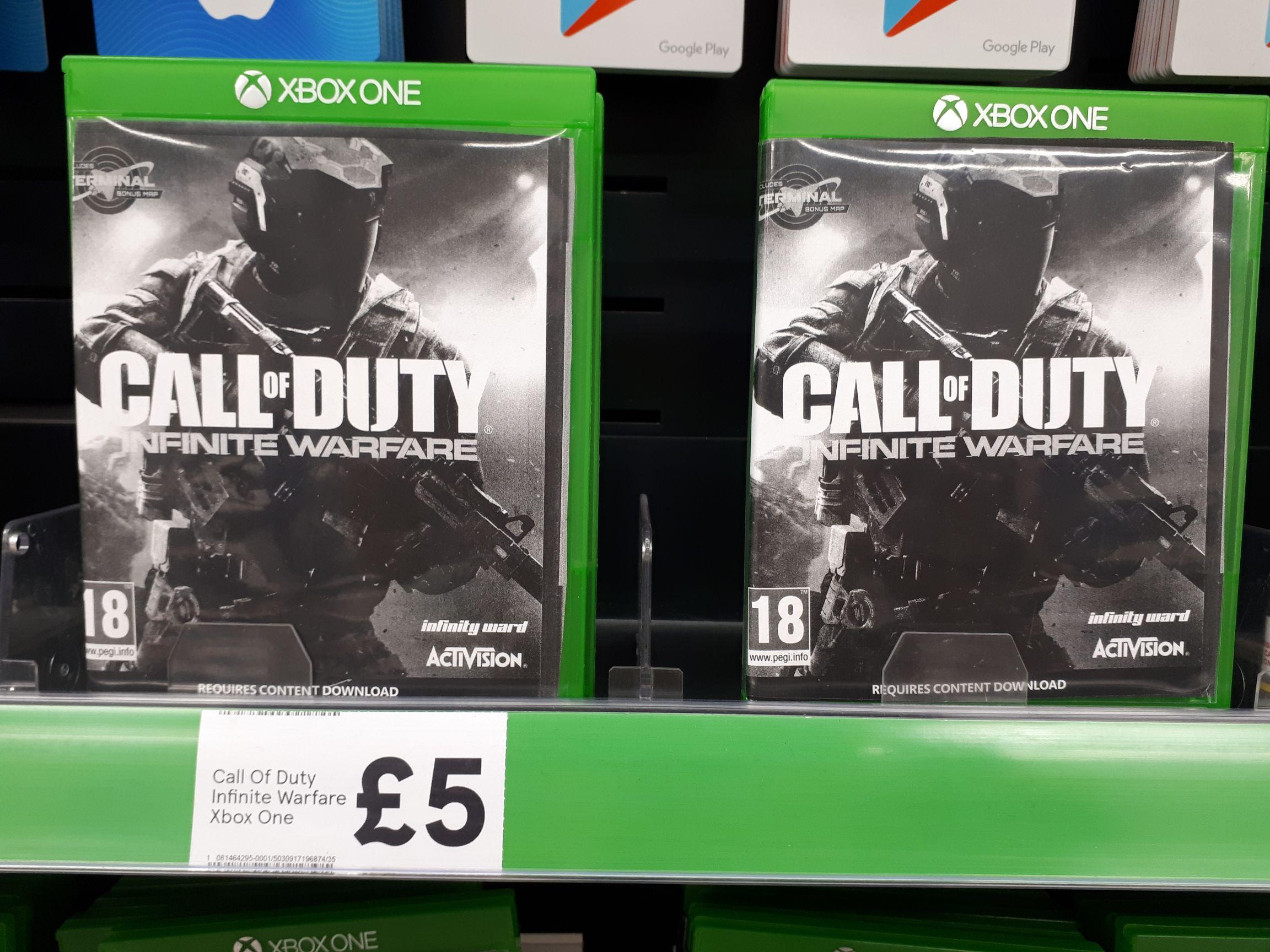 Call of Duty Infinite Warfare £5 at Tesco Sutton