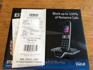 BT8600 Handset with Answering Machine Tesco instore £15 - Osterley