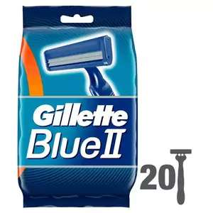 Gillette Blue II 20 Razors for £2.85 less than half price @ Superdrug  in store and online (free delivery store collect)