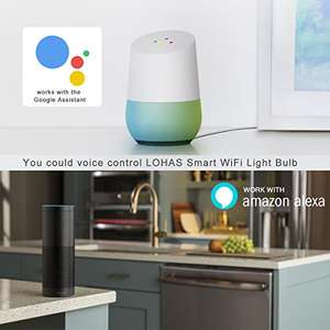 £6 off Promotion going on WIFI GU10 Smart Light Bulbs, Works with Alexa and Google Home, 5W Equal to 50W 2 Pack £26.99 Sold by LHS Net Lighting and Fulfilled by Amazon
