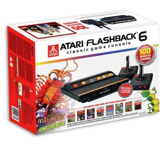 Atari Flashback 6 Classic Game Console £31.99 in-store @ Argos